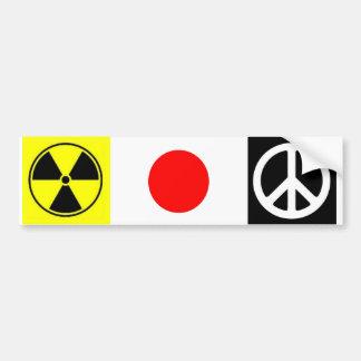 Japan 3-11 bumper sticker