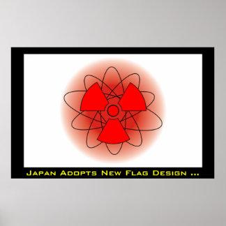 Japan Adopts New Flag! Poster