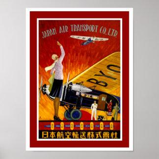 Poster vintage da Marinha as rodas