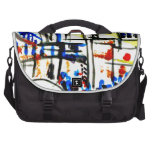 Japan and the flag commuter bag