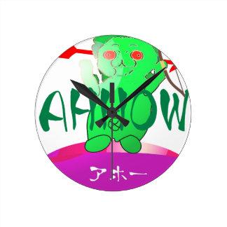 JAPAN ARROW ROUND CLOCK