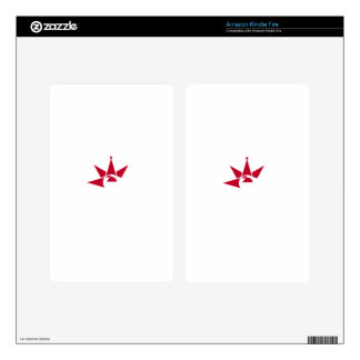 Japan-Asian Flag Skins For Kindle Fire
