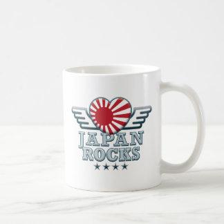 Japan B Rocks v2 Classic White Coffee Mug