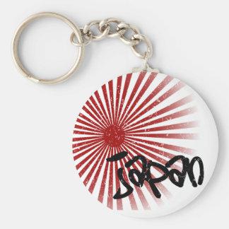Japan Basic Round Button Keychain