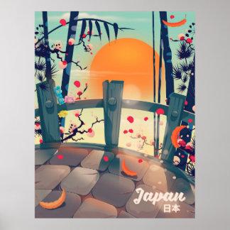Japan Blossom vacation poster Japan Blossom