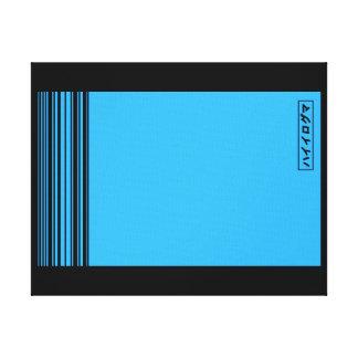Japan blue lona estirada galerias