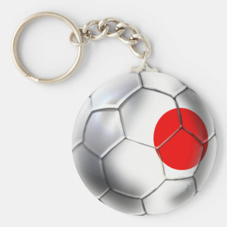 Japan Blue Samurai Soccer Team fans ball Keychains
