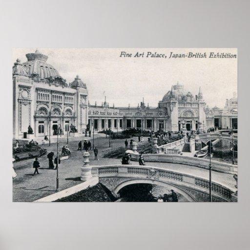 D Exhibition London : Japan british exhibition london vintage poster zazzle