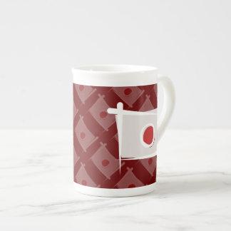 Japan Brush Flag Tea Cup