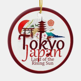 JAPAN CERAMIC ORNAMENT