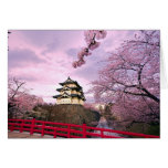 Japan Cherry Blossoms Greeting Card