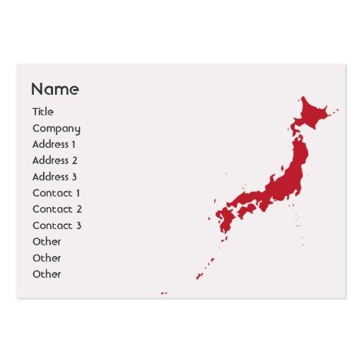 Japan - Chubby Business Card Templates