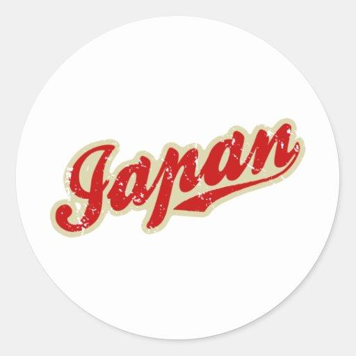 Japan Classic Round Sticker