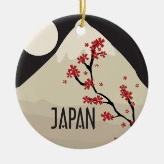 Japan Commemorative Ceramic Ornament