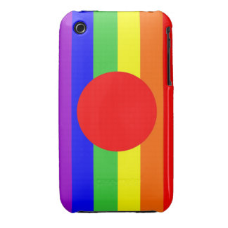 japan country gay proud rainbow flag homosexual iPhone 3 covers