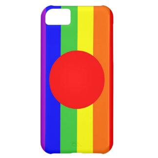japan country gay proud rainbow flag homosexual iPhone 5C case
