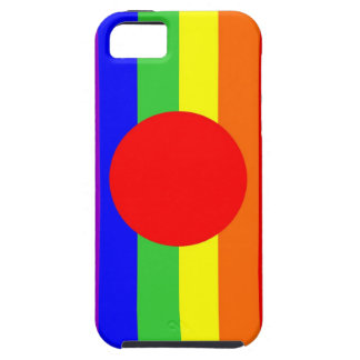 japan country gay proud rainbow flag homosexual iPhone SE/5/5s case