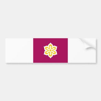 japan country region flag prefecture kyoto bumper sticker