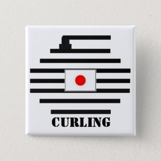 Japan Curling Button