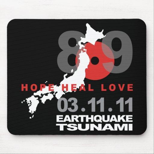 Japan Earthquake 8.9 Mousepads
