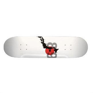 Japan Earthquake 8.9 Skateboard Deck