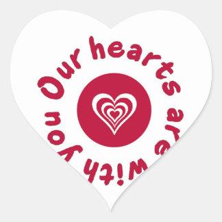 Japan Earthquake and Tsunami Relief Shirt Heart Sticker