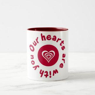Japan Earthquake and Tsunami Relief Shirt Two-Tone Coffee Mug