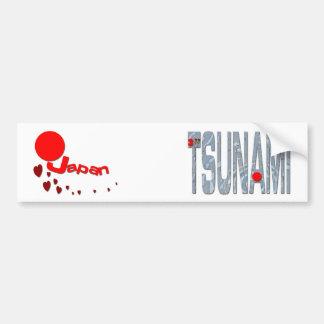 Japan Earthquake Bumper Sticker