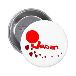 Japan Earthquake Pinback Buttons