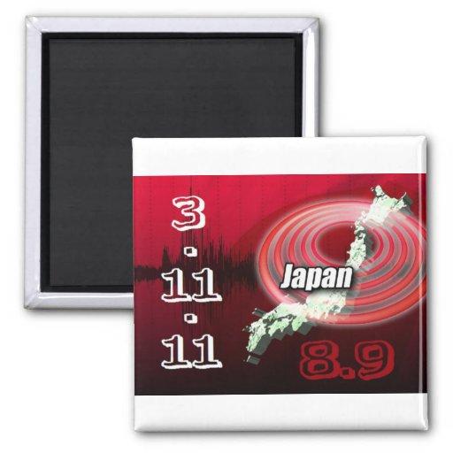 Japan Earthquake - Help Japan Refrigerator Magnets