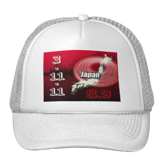 Japan Earthquake - Help Japan Trucker Hat