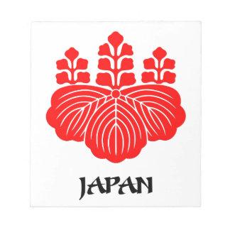 JAPAN - emblem flag coat of arms symbol Scratch Pad