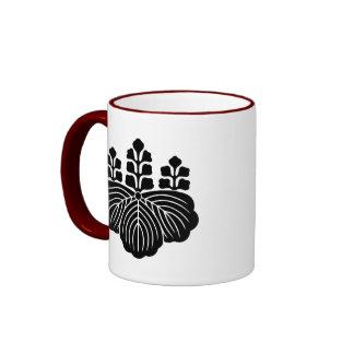 japan emblem ringer coffee mug