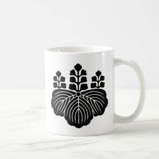 japan emblem classic white coffee mug