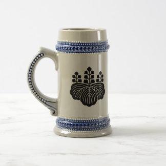 japan emblem 18 oz beer stein