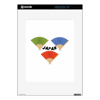 Japan Fans Decals For iPad
