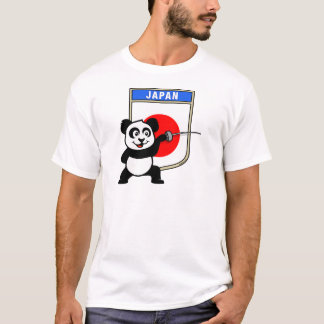 Japan Fencing Panda T-Shirt