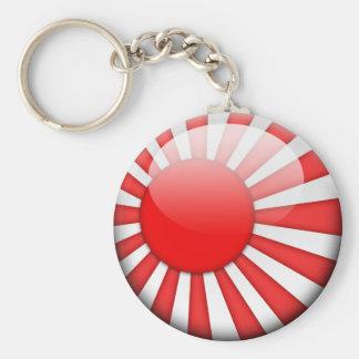 Japan Flag 2.0 Basic Round Button Keychain
