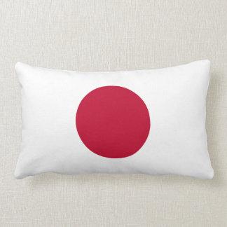 Japan Flag American MoJo Lumbar Pillow
