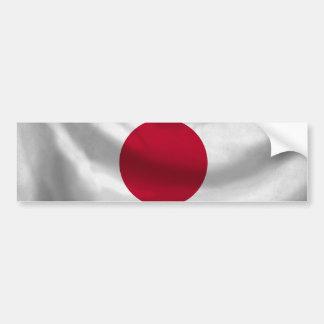 Japan Flag Bumper Sticker