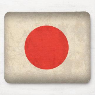 Japan Flag Distressed Mousepad