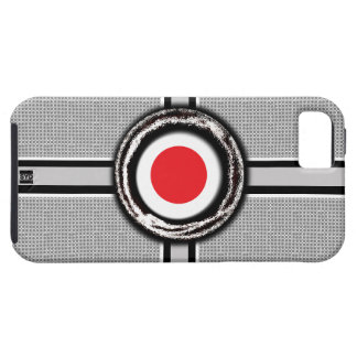 Japan Flag Emboss iPhone 5 Tough Case