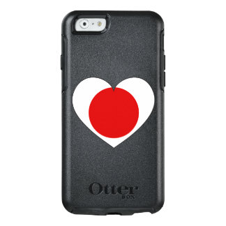 Japan Flag Heart OtterBox iPhone 6/6s Case