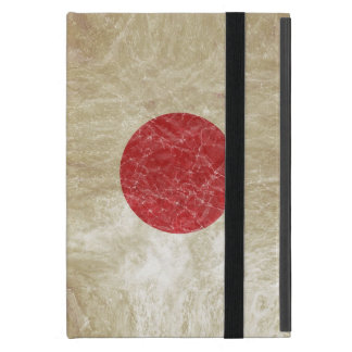 Japan Flag in Grunge iPad Mini Case
