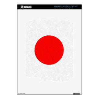 JAPAN FLAG iPad Skin