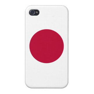 Japan Flag iPhone Case iPhone 4 Case