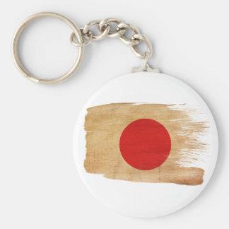 Japan Flag Keychain