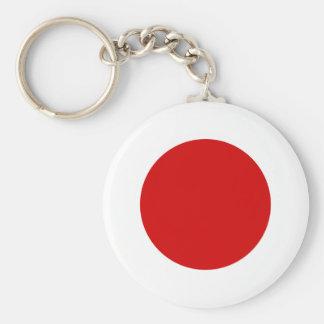 Japan Flag Key Chain