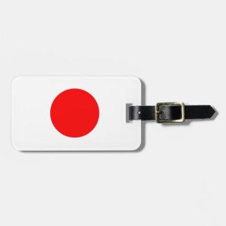 Japan Flag Luggage Tag