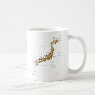 Japan Flag ~ Map Mug